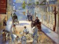 The road menders Rue de Berne Eduard Manet