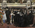Masked Ball at the Opera Realismus Impressionismus Edouard Manet