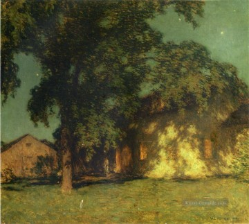Mme Kunst - Sommer Night No 2 Szenerie Willard Leroy Metcalf