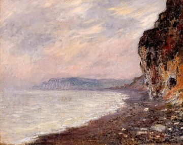 Claude Monet Werke - Cliffs at Pourville in the Fog Claude Monet