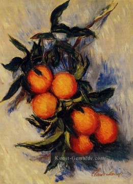 Claude Monet Gemälde - Orange Branch Bearing Fruit Claude Monet