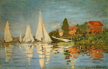 Regatta in Argenteuil Claude Monet Ölgemälde