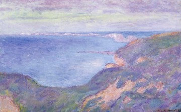 Claude Monet Gemälde - The Cliff near Dieppe Claude Monet