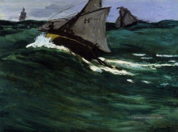 The Green Wave Claude Monet Ölgemälde
