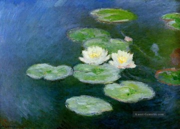 Seerose Abend Effect Claude Monet