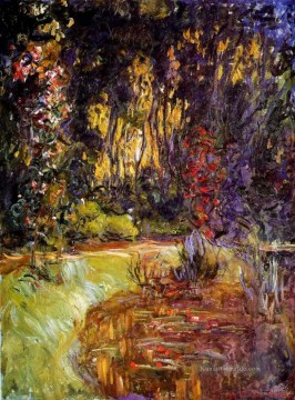 Giverny Galerie - Wasser Lilien Teich bei Giverny Claude Monet