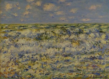 Claude Monet Gemälde - Waves Breaking Claude Monet