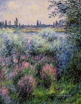 Claude Monet Gemälde - A Spot on the Banks of the Seine Claude Monet