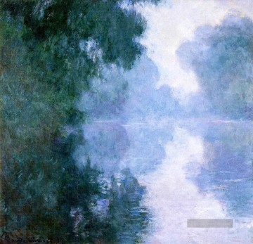 Arm of the Seine near Giverny in the Fog II Claude Monet