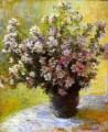 Bouquet von Mallows Claude Monet