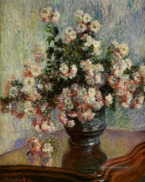 claude Ölgemälde - Chrysanthemen Claude Monet