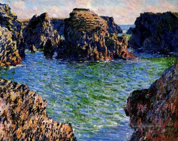 Coming into PortGoulphar BelleIle Claude Monet