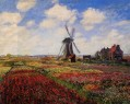 Feld der Tulpen in Holland Claude Monet