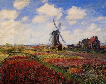 Feld der Tulpen in Holland Claude Monet Ölgemälde