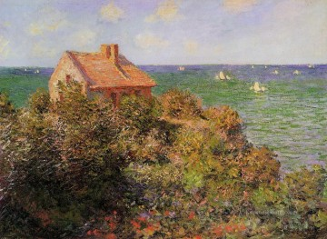 Claude Monet Gemälde - Fisherman s Cottage at Varengeville Claude Monet
