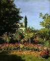 Garten in Blume Claude Monet