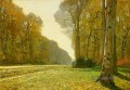 Le Pave de Chailly Claude Monet