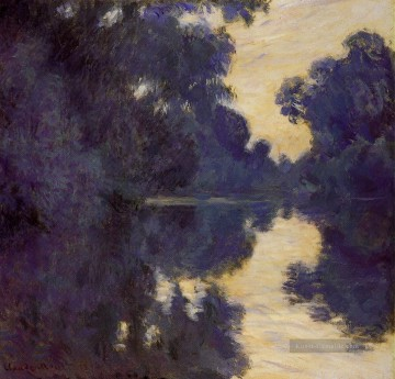 Claude Monet Werke - Morning on the Seine Claude Monet