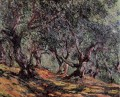 Olivenbäume in Bordighera Claude Monet