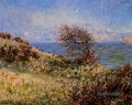 On the Cliff at Fecamp Claude Monet