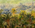 Palmen bei Bordighera Claude Monet