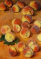 Peaches Claude Monet