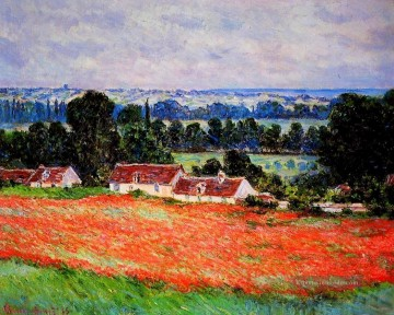 Giverny Galerie - Mohnblumen bei Giverny Claude Monet