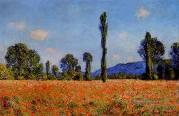 Claude Monet Gemälde - Poppy Field Claude Monet