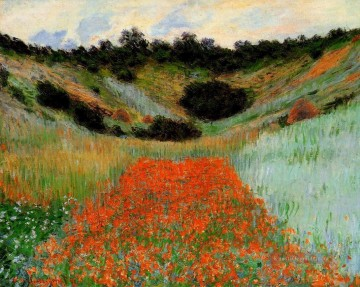 Giverny Galerie - Mohnfeld bei Giverny II Claude Monet