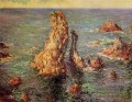 Pyramids at PortCoton Claude Monet