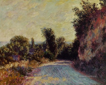 Claude Monet Werke - Road near Giverny Claude Monet