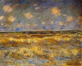 Rough Sea Claude Monet