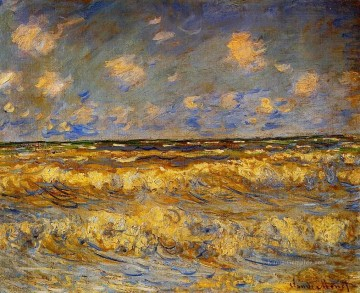 Claude Monet Gemälde - Rough Sea Claude Monet
