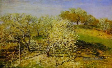 Claude Monet Gemälde - Springtime aka Apple Trees in Bloom Claude Monet