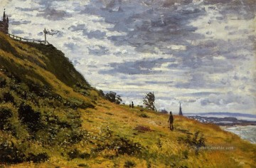 Claude Monet Werke - Taking a Walk on the Cliffs of SainteAdresse Claude Monet