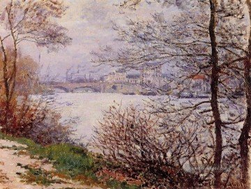 Claude Monet Werke - The Banks of the Seine Ile de la GrandeJatte Claude Monet
