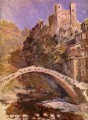 The Castle at Dolceacqua Claude Monet