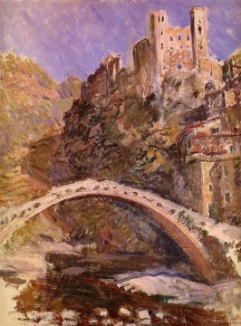 Claude Monet Werke - The Castle at Dolceacqua Claude Monet