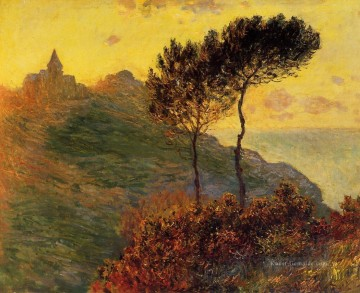 The Church at Varengeville against the Sunset Claude Monet