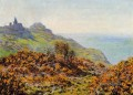 The Church at Varengeville and the Gorge of Les Moutiers Claude Monet