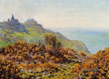 Claude Monet Werke - The Church at Varengeville and the Gorge of Les Moutiers Claude Monet