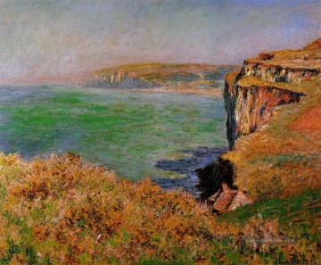Claude Monet Werke - The Cliff at Varengeville Claude Monet
