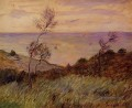 The Cliffs of Varengeville Gust of Wind Claude Monet
