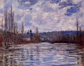 The Flood of the Seine at Vetheuil Claude Monet