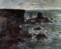 der Lion Rock BelleIleenMer Claude Monet