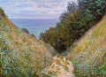 Der Weg in La Cavee Pourville Claude Monet