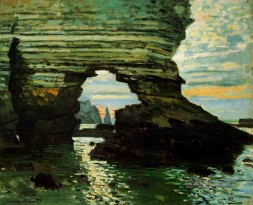 Claude Monet Werke - The Porte d Amont Etretat Claude Monet