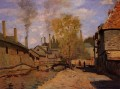The Robec Stream Rouen aka Factories at Deville near Rouen Claude Monet
