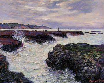 Pourville Galerie - The Rocks bei Pourville Ebbe Claude Monet