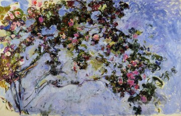 die Rose Bush Claude Monet